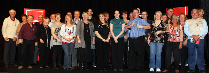 Volunteers from across the State presented with service honours